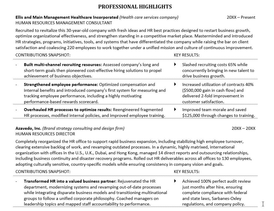 how to improve your resume with 5 easy to make resume changes